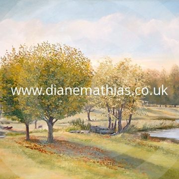 Charlecote Park - Original Oil