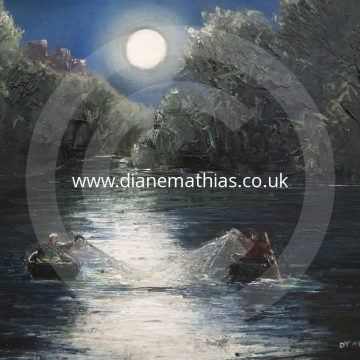 Coracle Fishing