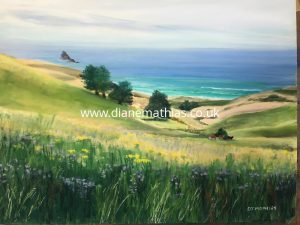 Dunedin Peninsula - Original Pastel