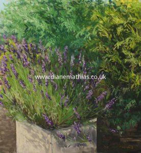 Lavender - Original Pastel