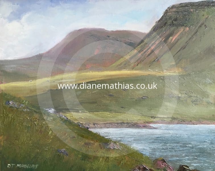 Lyn-y-Fan Fach - Original Oil