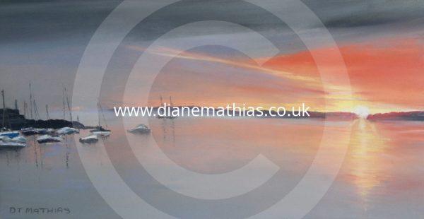 New Quay Sunset