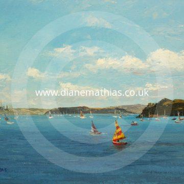 Sailing at Dale