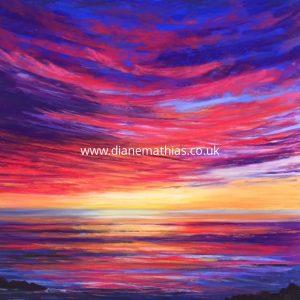 Sunset  - Original Pastel