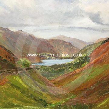 Tal y Llyn from Cwm Rhwyddfor