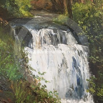 Glynhir Waterfall, Llandybie