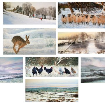 Box of 10 Seasonal Cards with envelopes