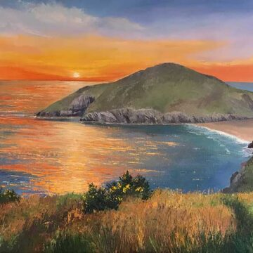 Machlud Haul ym Mwnt / Sunset at Mwnt