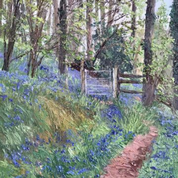 The Woods in Blue